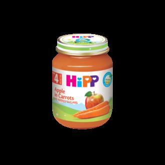 HiPP Pure me mollë/karrotë