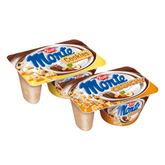 Monte crunchy & cookies 10/125gr.