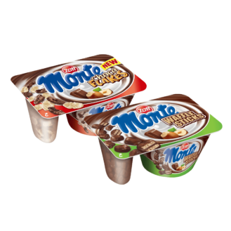 Monte choco flakes & waffle 10/125gr.