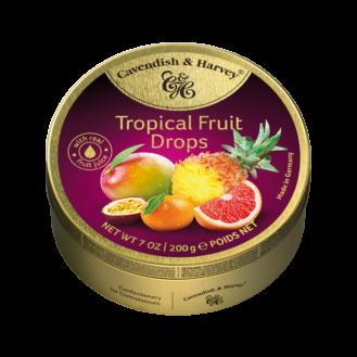 Karamele me fruta tropikale 9/200gr.
