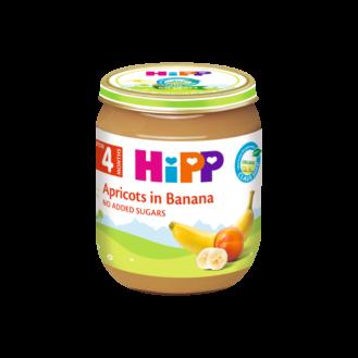 HiPP Pure kajsi & banane