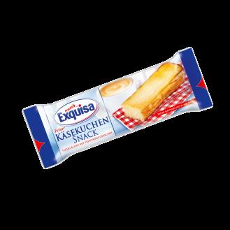 Artikulli –003026 - Exquisa Snack Natyral 10x70 gr.  Origjina - Karwendel Werke, 86807 Buchloe West, Gjermani.  Perberja : Vlerat ushqyese për 100g:Vlera kalorifike 1265 kJ / 301 kcal,Yndyrë 12.0 g,prej të cilave acide yndyrore të ngopura 5.6 g,Karbohidratet 41.0 g,prej të cilave sheqer 29.0 g,E bardha e vezës 7,5 g,Kripë 0,5 g.    Jetegjatesia : 53 dite.Te ruhet ne temperature: +2°C,+8°C. Produkti te perdoret brenda 3 diteve nga momenti i hapjes.