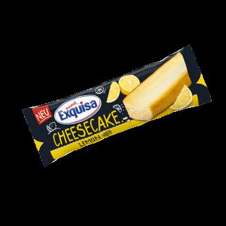 Artikulli –003027 - Exquisa cheesecake Lemon 10x70 gr.   Origjina - Karwendel Werke, 86807 Buchloe West, Gjermani.  Perberja : Vlerat ushqyese për 100g:Vlera kalorifike 1293 kJ / 308 kcal,Yndyrë 14 g,prej të cilave acide yndyrore të ngopura 6.6 g,Karbohidratet 38 g,nga të cilat sheqeri 28 g,E bardha e vezës 7,7 g,Kripë 0,45 g.    Jetegjatesia : 53 dite.Te ruhet ne temperature: +2°C,+8°C. Produkti te perdoret brenda 3 diteve nga momenti i hapjes.